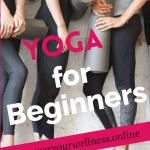 pinterest pin yoga for beginners