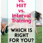 pinterest pin tabata vs hiit vs interval training which is right for you?