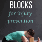pinterest pin yoga blocks for injury prevention