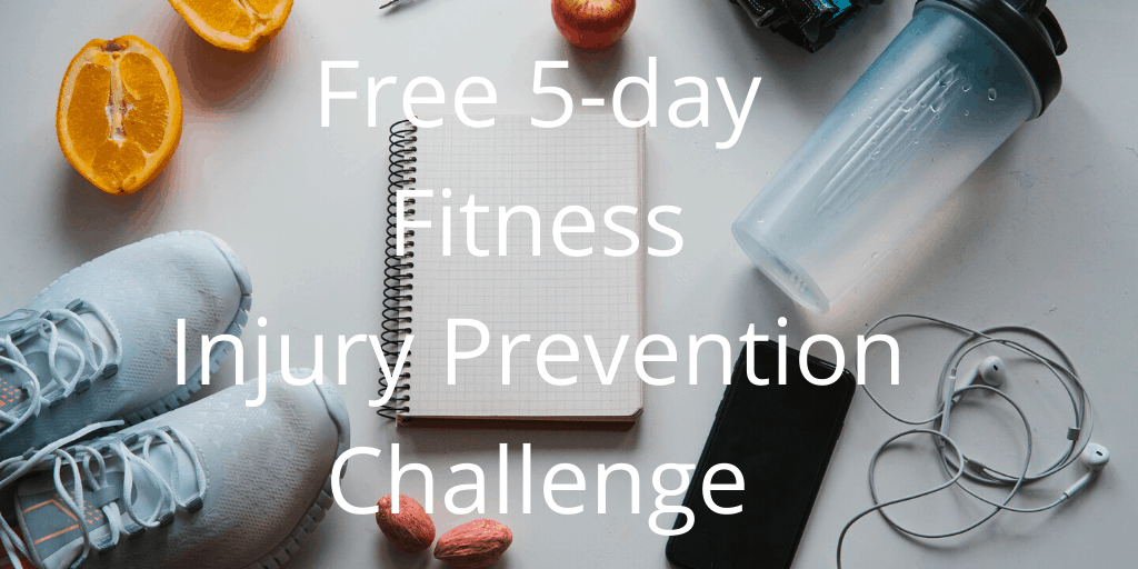 free 5-day fitness injury prevention challenge