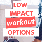 pinterest pin low impact workout options