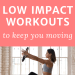 pinterest pin 18 low impact workouts