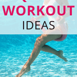 pinterest pin aquatic workout ideas