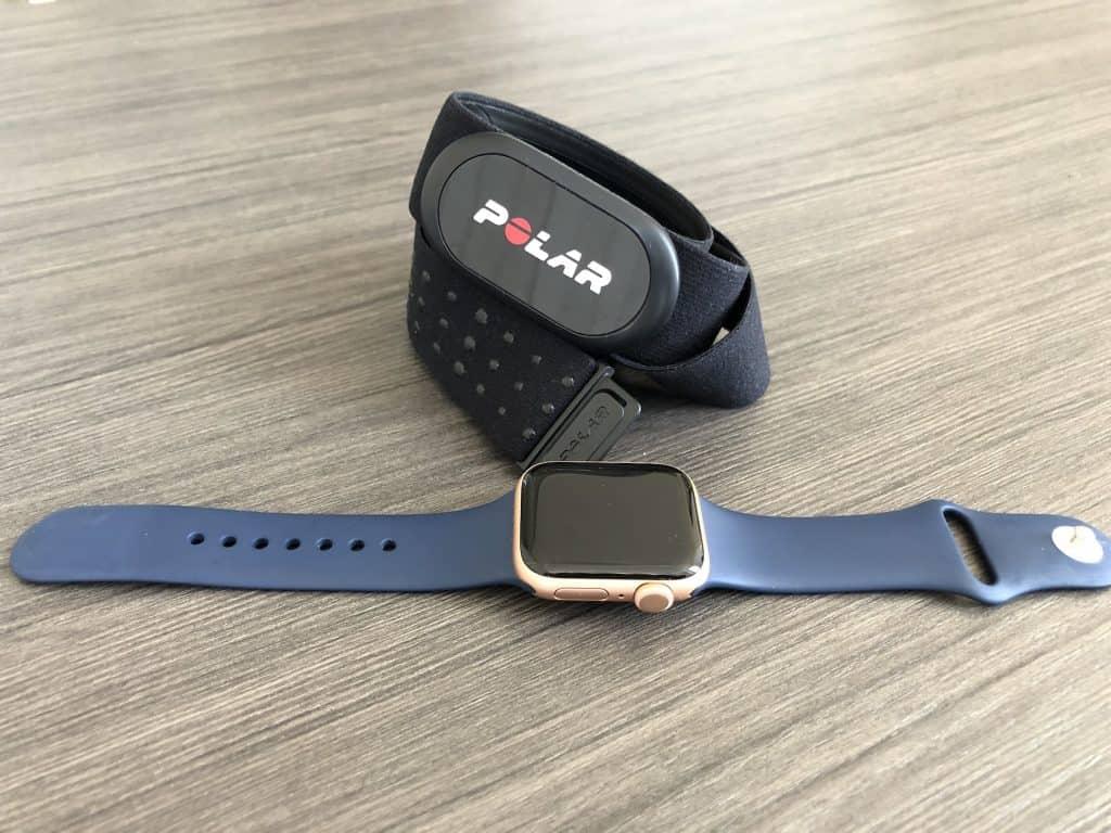 apple watch and polar h10