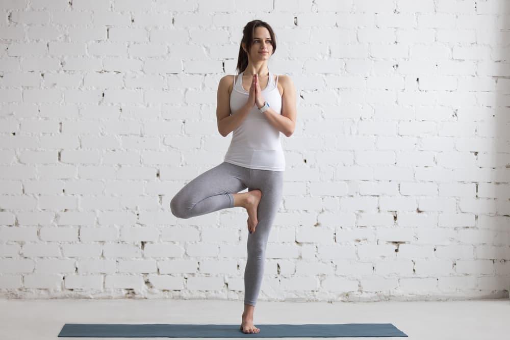 yoga for balance tree pose